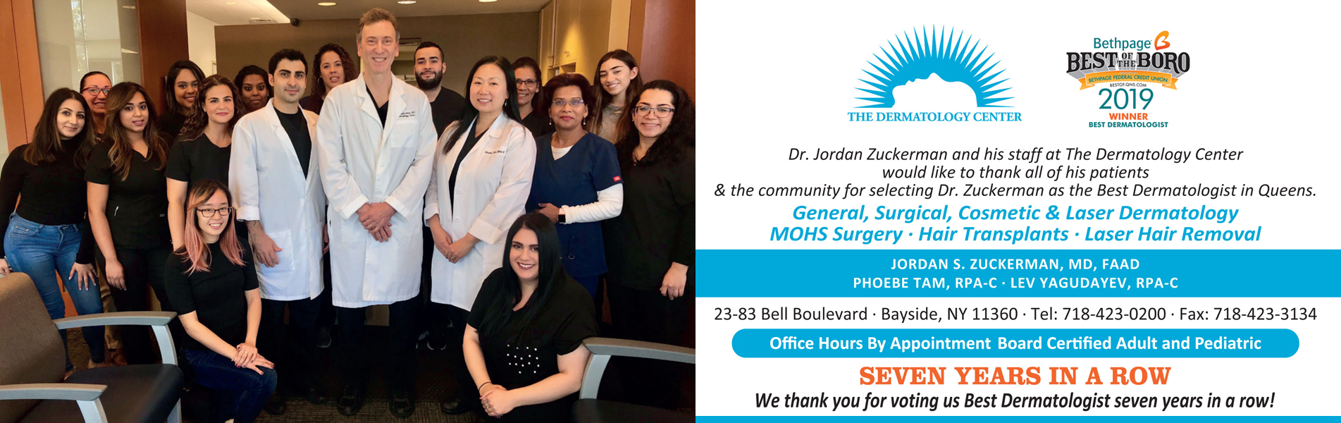 Jordan Zuckerman MD - Bayside Dermatology Center | Best Derm